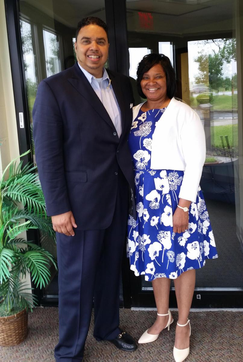 Michael and Rhia Hayes