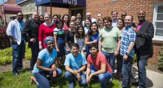 WGTS Team celebrates a successful Spring Fundraiser