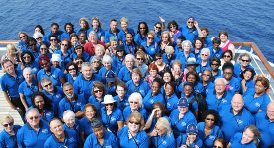 Attendees from around the North American Division attend the Adventist Single Ministries Cruise.