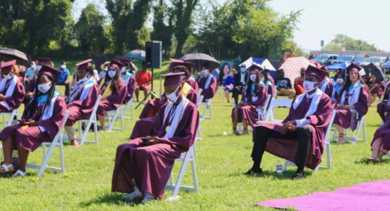 Takoma Academy Drive-in Ceremony