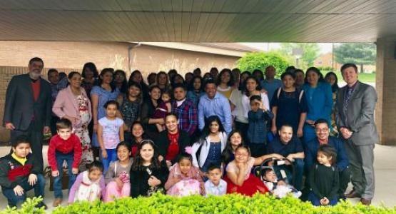 The Vida Nueva small group started meeting after 14 members from Allegheny West Conference's Central Hispanic Church in Cincinnati, and their friends and family created a small group to reach the local Honduran immigrant community, another fruit of Vida GPS.