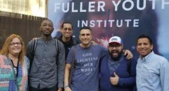 Six pastors, Renee Stepp, Garrison Hayes, Federico Revollo, Joseph Khabbaz, Geraldo Christo and Josant Barrientos, recently completed their cohort in Growing Young, which identifies cultural values necessary for successful ministry to young people.