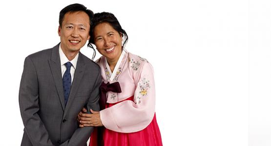 James Ferry photographed the Kims in his Columbia, Md., studio.