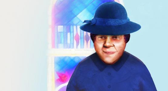 Illustration of Lucy Byard by Xavier Cabrera Vargas