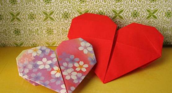 Origami Hearts by Josey from Flickr