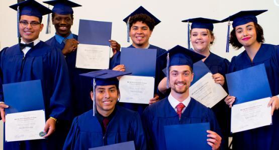 REACH graduates second class. Photo by Krystal Irrgang