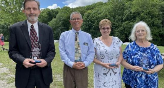 The Mountain View Conference thanks retirees Rick Cutright, Daniel Morikone, Donna Nicholas and Jane Browning for their many years of ministry.