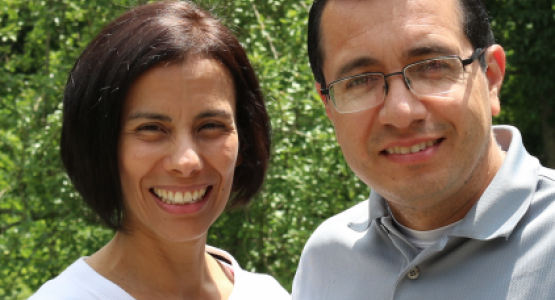 Anaynsi and David Nino join Highland View Academy faculty as school secretary and music instructor, respectively.