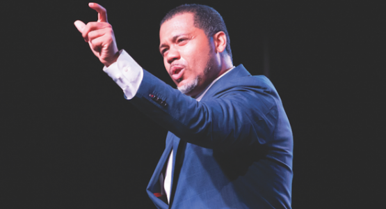 At the North American Division Teachers' Convention in Chicago, Manny Scott shares how a teacher transformed his life.
