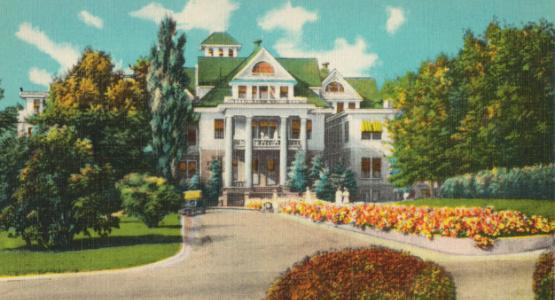 Image of Washington Sanitarium and Hospital, Takoma Park, Washington, D. C. from Boston Public Library via Flickr