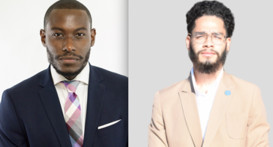 John Coaxum (left) and Max Gomez, pastors at the Connection Community church, engage the young adult community in authentic and effective ways.