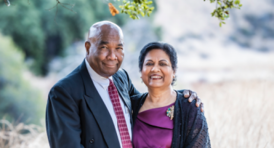 New Jersey Conference's Ministerial Director Leonel Pottinger (pictured with his wife, Miriam) retires after nearly 50 years of ministry. Photo by Shawn Koh.