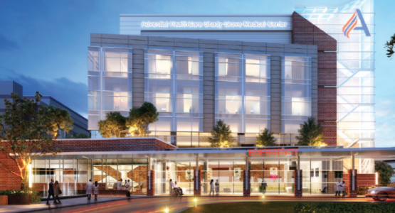 Adventist HealthCare Shady Grove Medical Center's new patient tower would include updates to multiple service areas including the Emergency Department, Intensive Care Unit, Progressive Care Unit, Medical/Surgical units and cardiovascular interventional radiology.