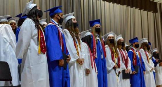 Shenandoah Valley Academy 2021 graduates are pictured. Photo courtesy the school.