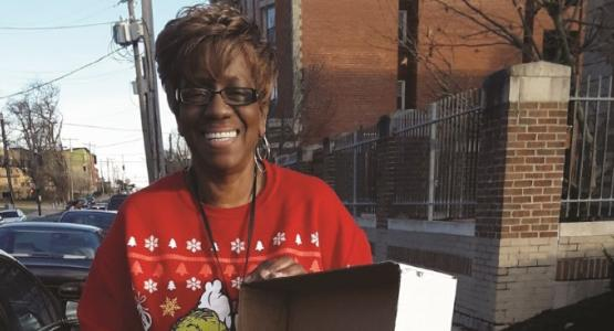 Beverly Davis, the community resource coordinator for the South Avondale Elementary public school,