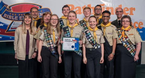 The Triadelphia Sparks PBE team places first at the North American Division event. Photo courtesy North American Division