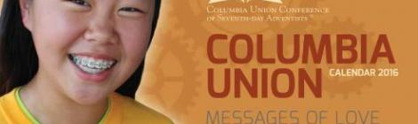2016 Columbia Union Conference Calendar