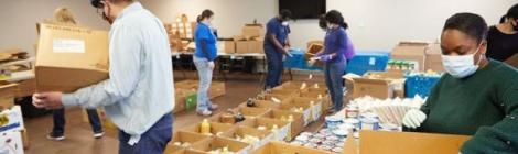 The Harbor of Hope Food Pantry in Benton Harbor, Michigan, is one of the ACS centers that will receive help as part of the ADRA/ACS partnership. Photo by Victor Rayno
