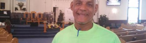 Due to the Mizpah church ARMin program, Manuel Jimenez, a recovery house resident, now attends church regularly.
