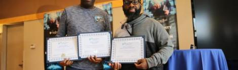 Mike Williams, communication director for the Mt. Olivet church in Camden, N.J., wins Best Church Website and Best Video Production, and Sheldon Kennedy, communication director for Emmanuel-Brinklow church in Ashton, Md., wins Best Social Media Presence