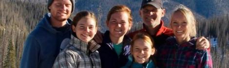 Burney Culpepper (pictured with his family) will be the new principal of Blue Mountain Academy
