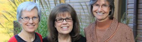 Valerie Morikone, Linda Johnson, JoDee Shoffner