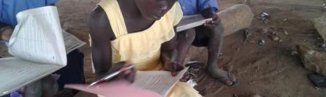 Maria's parents were both killed during a civil war in a refugee camp in South Sudan. She was studying at an Adventist school with no walls or roof, no desk, hardly any books. Restore a Child helped build a new school at their refugee camp.