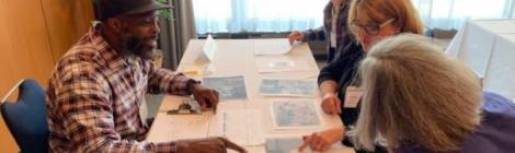 TA Teacher Shaun Robinson (pictured left) attended a Library of Congress Summer Teacher Institute