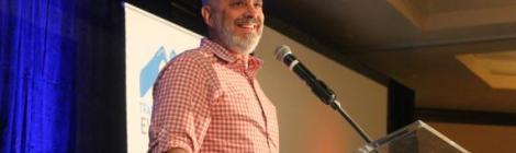 Roger Hernandez speaks at the Transformational Evangelism. Photo by V. Michelle Bernard