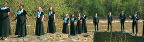 "HVA's music students create the ""River Jordan"" music video."