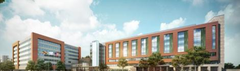 The White Oak Medical Center will be a 472,000-square-foot, $404 million hospital, replacing its existing—and more than 100-year-old—Takoma Park campus.