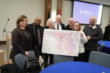 Chestertown (Md.) church members organize plans and pray over their community territory.