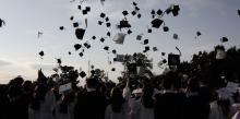 graducation caps by Jessie Jacobson on Flickr