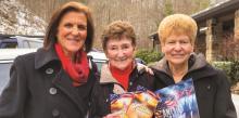 Priska Volpe, Judy Johnson, Delphia Davis