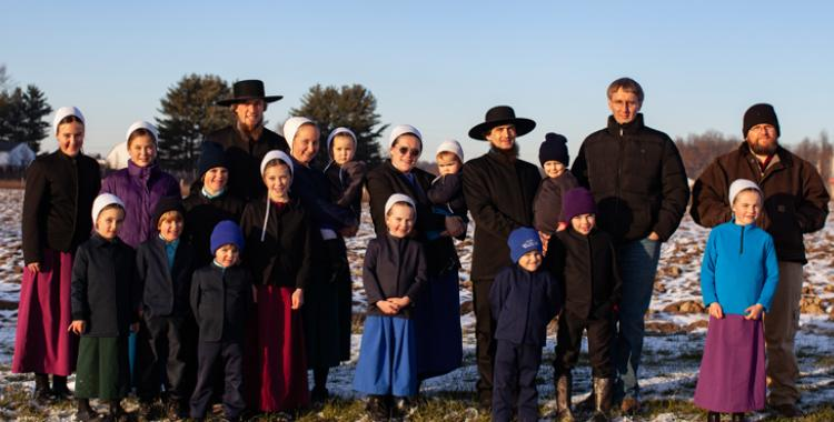 Members of the West Salem Mission of Seventh-day Adventists in Ohio. Photo by Michael F. McElroy