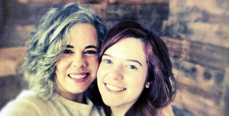Ausma Kinney with her daughter Jessa