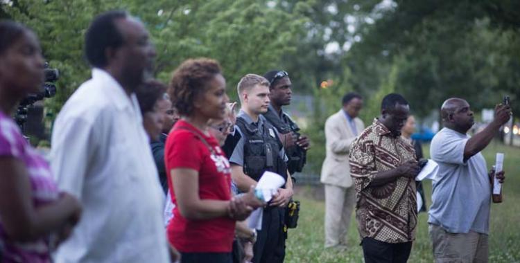 CPC members gather for prayer vigil in Alexandria, Va.