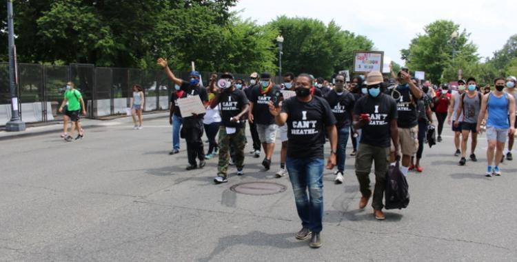 Allegheny East Metropolitan Church protest
