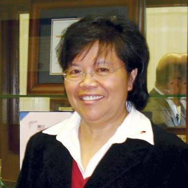 Ophelia M. Barizo, chairperson of the Science department at Highland View Academy