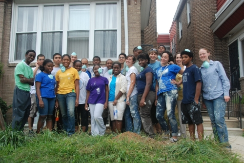 The Reach Philadelphia team is involving young people in community outreach.