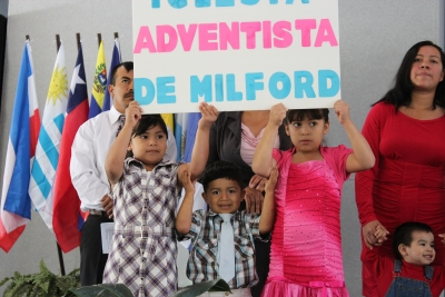 The Milford (Del.) Spanish group were one of five new congregations to join the conference so far this year.