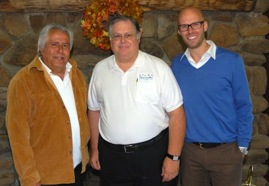 Thom Juarros, Ron Streeter and Steve Carlson represent several generations of Camp Mohaven directors.